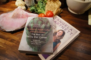 Angela Hartnett and Anna Del Conte – two of my favourite cookery writers
